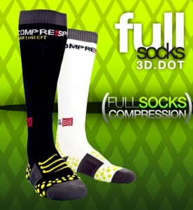 Skarpety kompresyjne COMPRESSPORT full socks