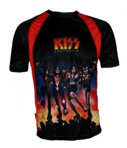 KISS DESTROYER running top - UNIKAT!